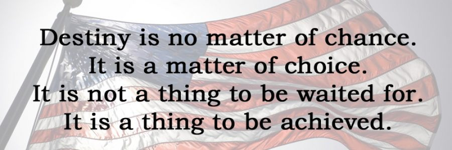 [No. 4] In the Words of William Jennings Bryan…