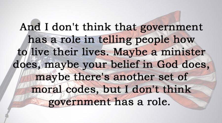 [No.21] Clarence Thomas on the Role of Government