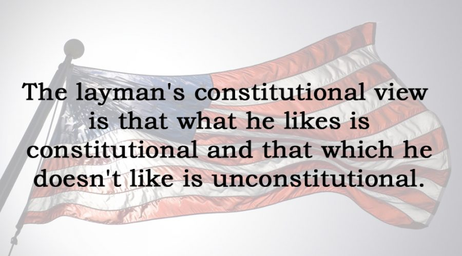 [No.24] Hugo Black on Constitutional Perspective