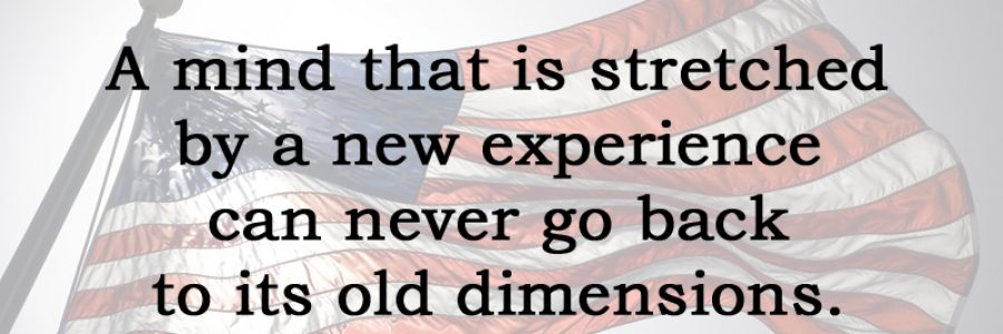 [No.23] Oliver Wendell Holmes on Experience