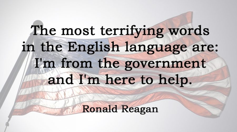 [No.25] Ronald Reagan on Terrifying Words